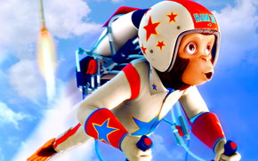 Мартышки в космосе: Ответный удар 3D, Space Chimps 2: Zartog Strikes Back, фильм, кино