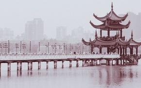 Павильон,  пагода,  мост