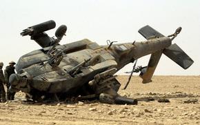 крушение,  пустиня,  ирак