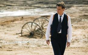 Johnny Depp, actor, tie, suit