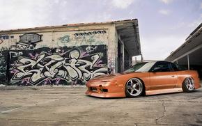 Nissan, Sintonizacin, grafiti, CD, Nissan