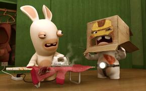кролик,  утюг
