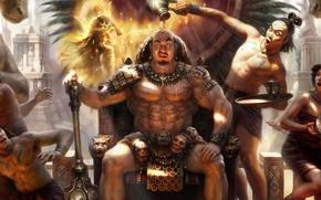 玛雅, 领导者, 女神, 公务员