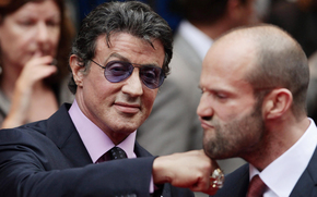 man, actor, Sylvester Stallone, Jason Statham