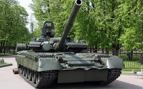 tank, barrel, Track, park