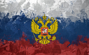 три колор, герб, россия, флаг