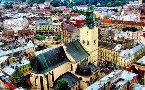 львов,  кафедральный собор,  собор,  костел,  святые места,  святыня,  город,  украина