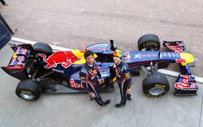 Red Bull, Sebastian Vettel, Webber, fireball