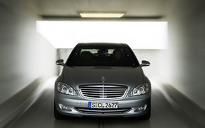 mercedesbenz-s-class, silver gray, business