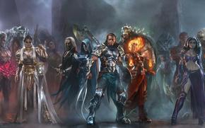 Heroes, Warriors, Magi, arma