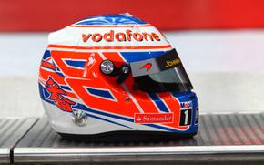 the pilot's helmet, JB