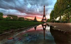 эйфелева башня,  франция,  париж