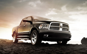 Dodge, Ram, Car, machinery, cars