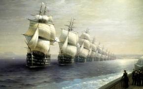 Aivazovsky Ivan, pittura, mare
