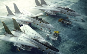 самолеты,  стоянка