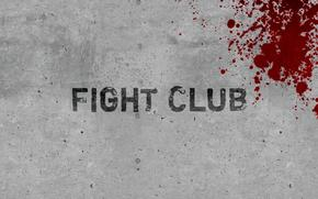 minimalism, Fight Club, wall, blood