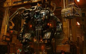robot, shagatel, reparar, personas, ingenieros, Reparar, Equipo, tcnica, Arma, Armas, municin