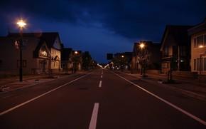 night, ul, lantern
