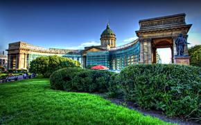 Kazan, cathedral, St. Petersburg, architecture