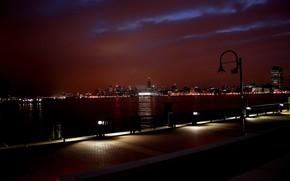embankment, Lights, lantern
