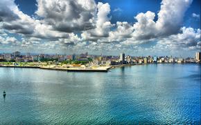 Kuba, Hawana, nabrzee, Khdr