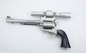 revolver, sight, hammer, drum