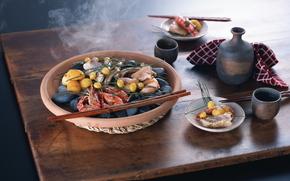 еда,  пища,  вкусно,  морепродукты,  палочки