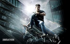 inseguimento, Taylor Lautner, tetto, elicottero, vetro, pistola