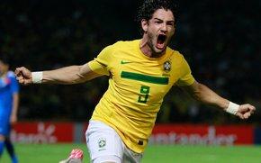 милан,  бразилия,  гол,  радость