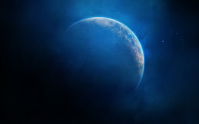 地球, 明星, 灰尘, 气, 发光