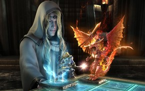 enchantress, chess, magic
