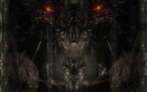 дракон, глаза