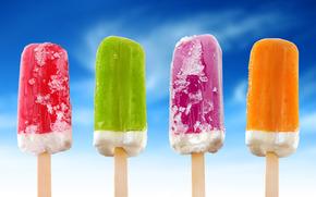 мороженное, еда, цвет
