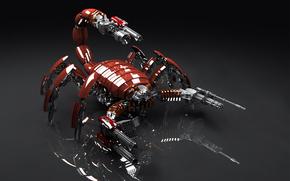 скорпион, оружие, механизм