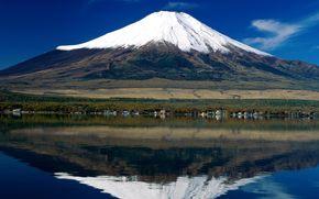гора фуджи, япония