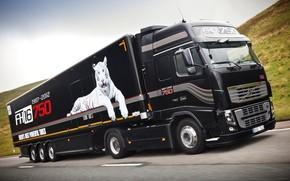 camion, carta da parati, trattore, Volvo, Volvo