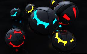 сферы, шары, цвета