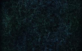 labirinto, nervatura, scuro