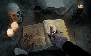 witch, nails, journal