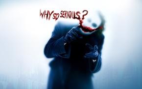 Joker, warum du so ernst, Tapete