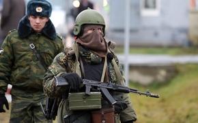 солдат,  военный,  российский,  русский,  мужчина,  автомат,  калашникова,  оружие,  камуфляж,  ушанка,  шапка,  маска,  спецназ,  сфера,  шлем,  обои