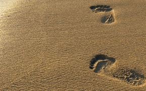 areia, praia, vestgios de