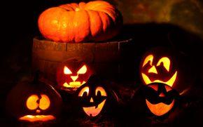 хэллоуин,  тыквы,  праздник,  банда