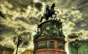 St. Isaac's Square, St., petersburg, The Bronze Horseman