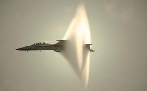 звуковой барьер, самолет