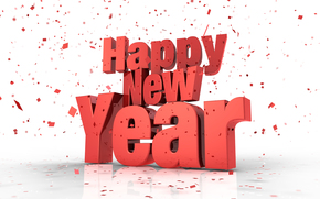 confetti, Happy New Year