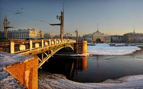 San Pietroburgo, Ammiragliato, Palace Bridge, Palazzo d'Inverno