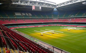 Galles, stadio, Millenium, Cardiff