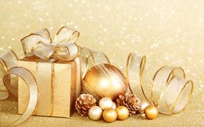Nouvel An, cadeaux, Dcorations de Nol, ornementation, clinquant