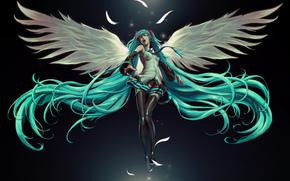 fille, ange